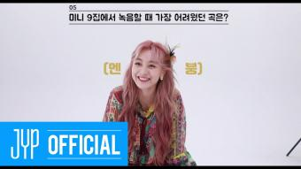 "TWICE ""MORE & MORE"" 60 Seconds Speed Interview_ JIHYO"